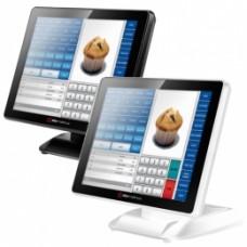 Colormetrics P2100, 38.1 cm (15''), Projected Capacitive, SSD, VFD, black, fanless